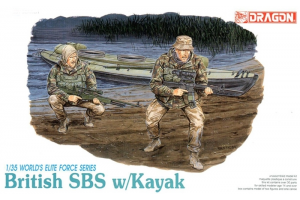 BRITISH SBS w/KAYAK (1:35) - 3023