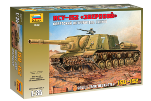 ISU-152 Soviet Self-propelled Gun (1:35) - 3532
