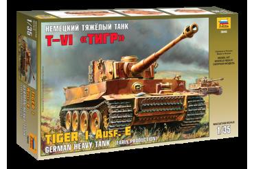 Model Kit tank 3646 - Tiger I Early (Kursk) (1:35)