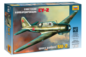 SU-2 Soviet Light Bomber (1:48) - 4805