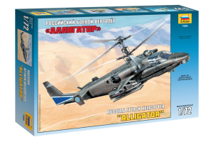 "Kamov Ka-52 ""Alligator"" Combat Helicopter (1:72) - 7224"