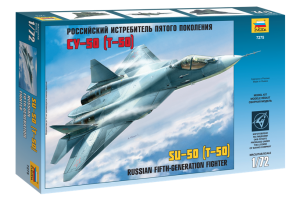 T-50 Russian Stealth Fighter (1:72) - 7275