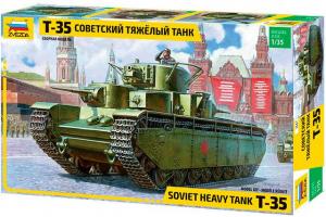 T-35 Heavy Soviet Tank (1:35) - 3667