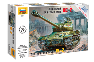 Snap Kit tank 5011 - IS-2 Stalin (1:72)