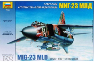 Model Kit letadlo 7218 - MIG-23 MLD Soviet Fighter (re-release) (1:72)