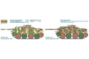 Model Kit tank 6531 - JAGDPANZER 38(t) HETZER (1:35)