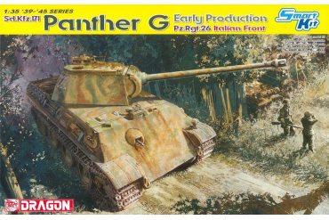 Model Kit tank 6267 - PANTHER G EARLY PRODUCTION PZ.RGT.26 ITALIAN FRONT (1:35)