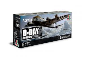 Sada 445AP: D-DAY AIRCRAFT 6 ks - akryl