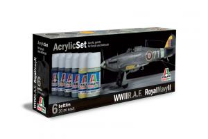 Sada 444AP: R.A.F. / ROYAL NAVY II 6 ks - akryl