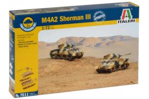 M4A2 SHERMAN III (1:72) - 7511