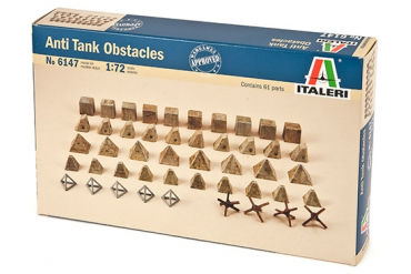 Anti tank obstacles (1:72) - 6147