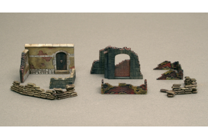 WALLS AND RUINS II (1:72) - 6090