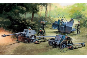 GERMAN GUNS SET: PAK35-PAK40-FLAK38 (1:72) - 7026