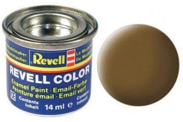 Barva Revell emailová - 32187: matná zemitě hnědá (earth brown mat)