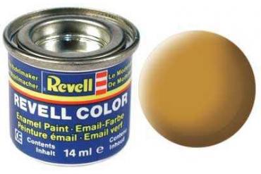 Barva Revell emailová - 32188: matná okrově hnědá (ochre brown mat)