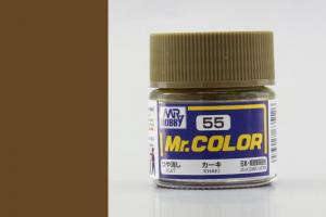 Mr. Color - C055: Khaki matná