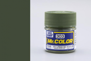 Mr. Color - C303 FS34102 Zelená (Green)