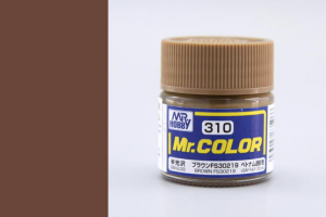 Mr. Color - C310: FS30219 Hnědá pololesklá