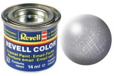 Barva Revell emailová - 32191: metalická ocelová (steel  metallic)