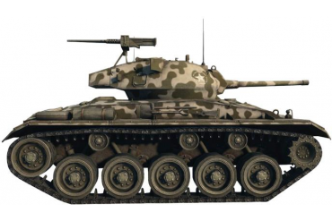 Model Kit World of Tanks 36504 - M24 CHAFFEE (1:35)