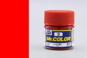 Mr. Color - C003: Červená lesklá