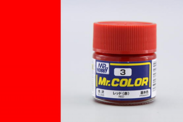 Mr. Color - C003: Červená (Red)