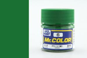 Mr. Color - C006: Zelená (Green)