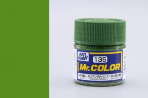 Mr. Color - C135: Ruská zelená 1 matná