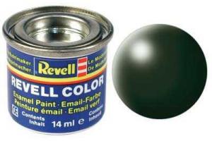 363: hedvábná tmavě zelená (dark green silk) - Email