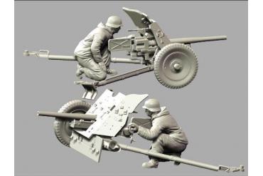 Model Kit figurky 3610 - PAK-36 with Crew (1:35)