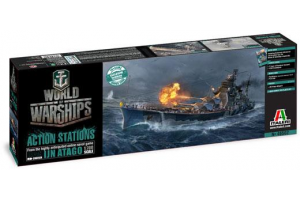 Model Kit World of Warships 46502 - IJN ATAGO (1:700)