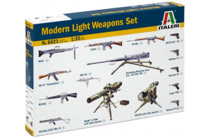 Model Kit doplňky 6421 - MODERN LIGHT WEAPON SET (1:35)