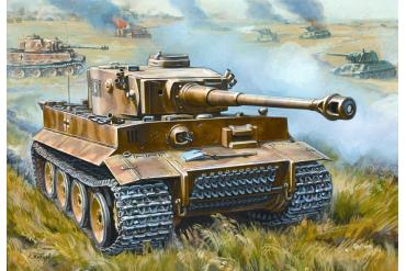Snap Kit tank 5002 - Tiger I (1:72)