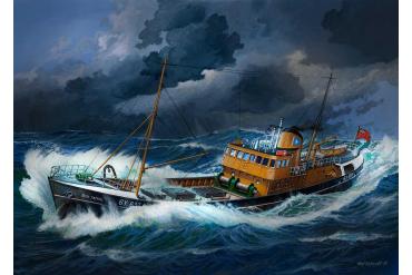 Plastic ModelKit loď 05204 - Northsea Fishing Trawler (1:142)