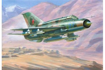 Model Kit letadlo 7259 - MIG-21 BIS Soviet Fighter (1:72)