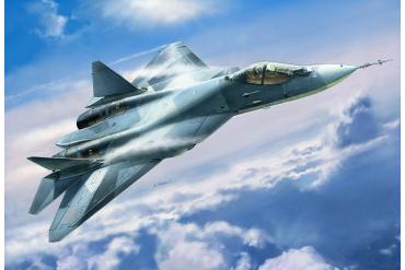 Model Kit letadlo 7275 - Sukhoi T-50 Russian Stealth Fighter (1:72)
