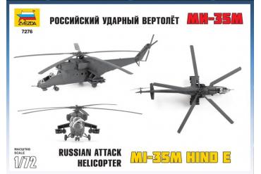 Model Kit vrtulník 7276 - MIL MI-35 (1:72)