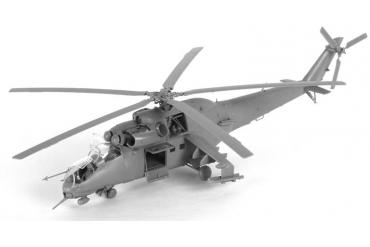 Model Kit vrtulník 7293 - MIL MI-24V/VP Hind E (1:72)