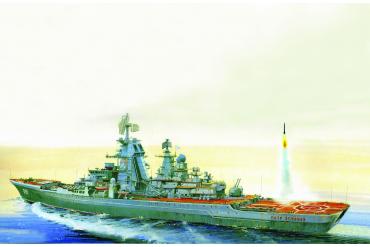 Model Kit loď 9017 - Russian Battlecruiser Pjotr Velikij (1:700)
