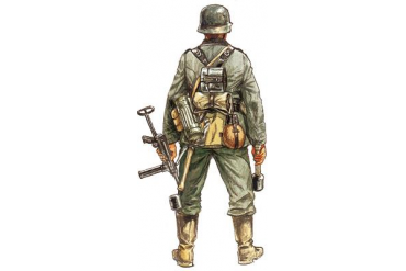 Model Kit figurky 6033 - WWII - GERMAN INFANTRY (1:72)