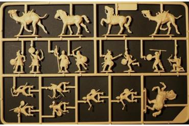 Model Kit figurky 6010 - SARACENS WARRIOS (XIth CENTURY) (1:72)