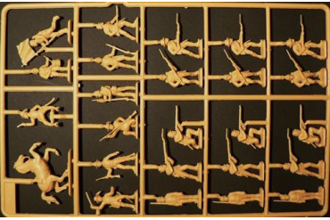 Model Kit figurky 6014 - CONFEDERATE INFANTRY (AMERICAN CIVIL WAR) (1:72)