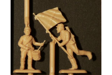 Model Kit figurky 6014 - CONFEDERATE INFANTRY (AMERICAN CIVIL WAR) (1:72)
