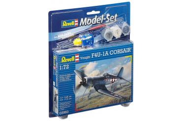 ModelSet letadlo 63983 - Vought F4U-1A Corsair (1:72)