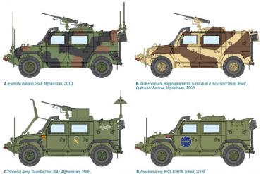 Model Kit military 6504 - LMV LINCE (1:35)
