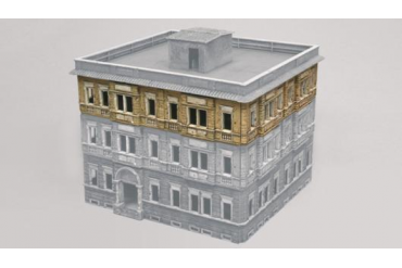 Model Kit budova 6089 - BERLIN HOUSE EXTENSION - 1 FLOOR (1:72)