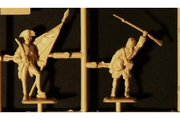 Model Kit figurky 6060 - AMERICAN INFANTRY (AM.INDEP.WARS 1776 ) (1:72)