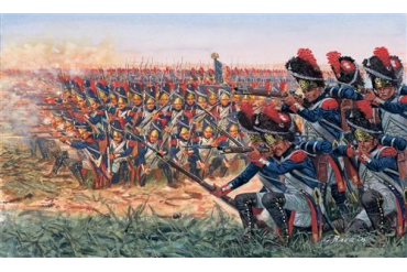 Model Kit figurky 6072 - NAPOLEONIC WARS: FRENCH GRENADIERS (1:72)