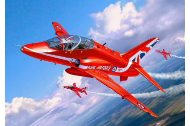 Plastic ModelKit letadlo 04921 - BAe Hawk T.1 Red Arrows (1:72)