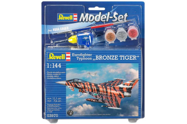 ModelSet letadlo 63970 - Eurofighter Bronze Tiger (1:144)